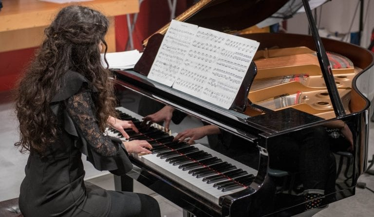 Valentina, pianoforte