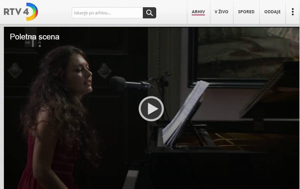 Valentina Colonna @ RTVSLO RTV4