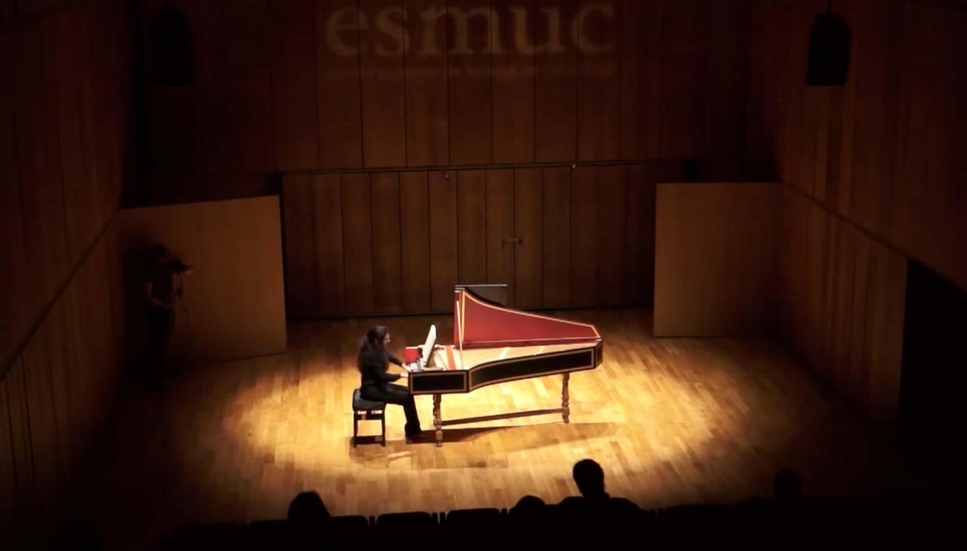 J. S. Bach - Partita BWV 825, Sarabande - Valentina Colonna, clavicembalo