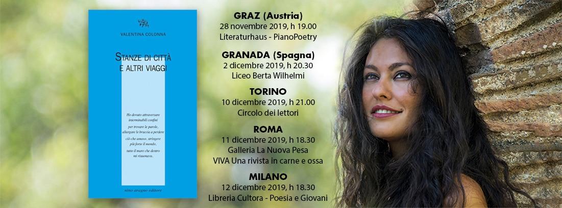 Copertina eventi Valentina Colonna